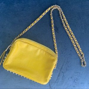 Rebecca Minkoff yellow crossbody